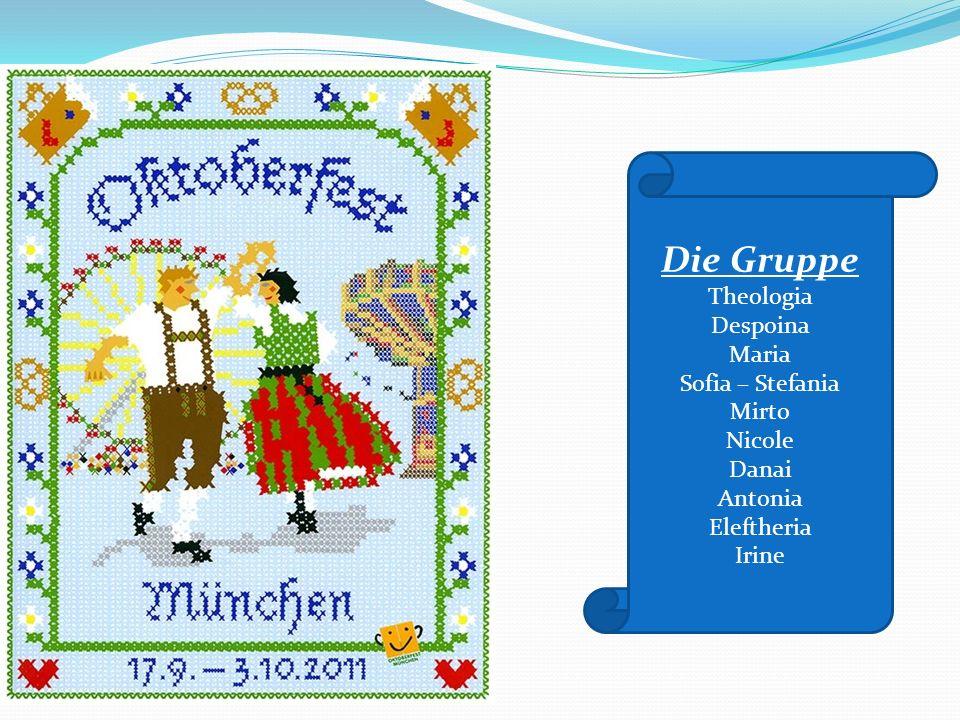 Das Oktoberfest gibt es schon seit fast 200 Jahren und es ist ein Fest für Groß und Klein, für Jung und Alt!!! Το Oktoberfest γιορτάζεται εδώ και 200