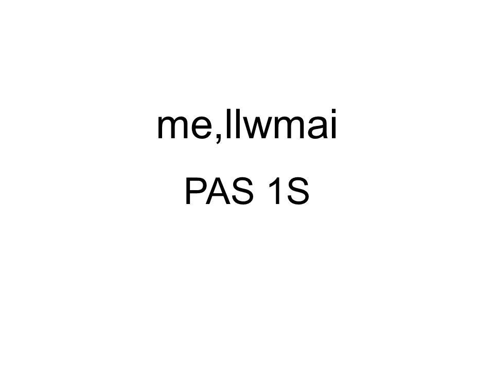 PAS 1S me,llwmai