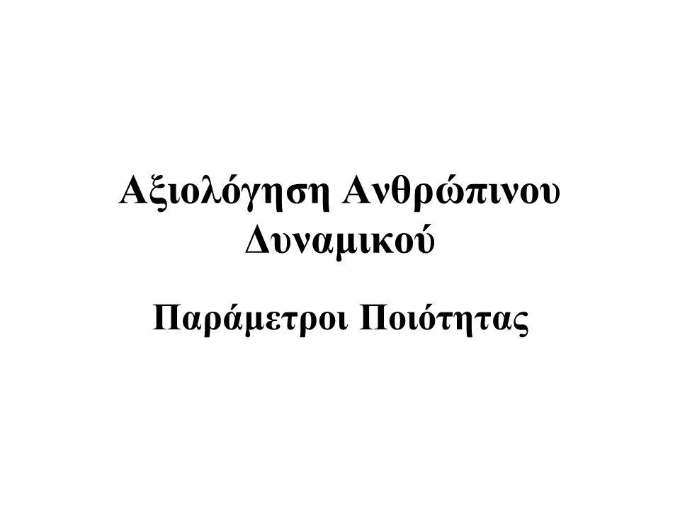 Γραπτά Περιγραφικά Κείμενα Απλή γραπτή περιγραφή: – των δυνατών και αδύνατων σημείων ενός εργαζόμενου –της απόδοσής του –των δυνατοτήτων εξέλιξής του –προτάσεων για τη βελτίωσή του Πολλές φορές το κείμενο αντανακλά τις δυνατότητες γραπτής έκφρασης του συνάκτη