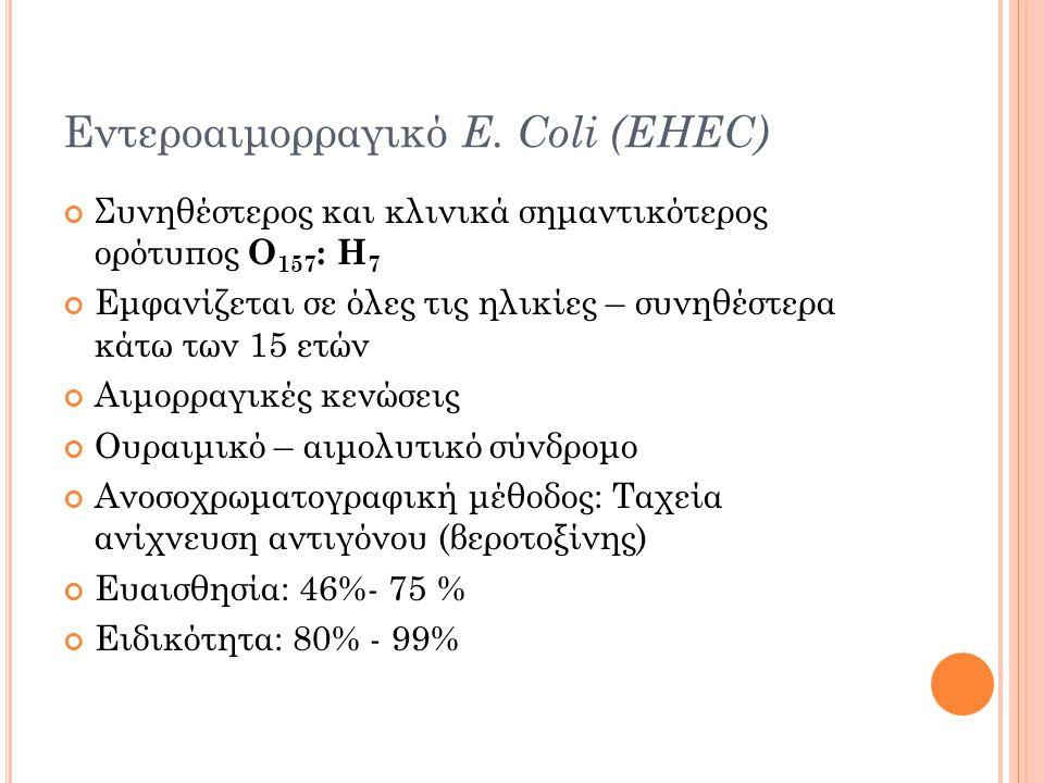 Εντεροαιμορραγικό E.