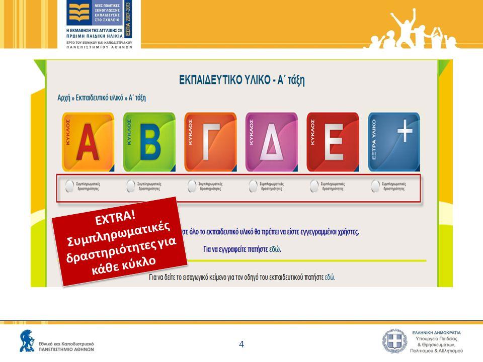 5 Επιπρόσθετο Εκπαιδευτικό Υλικό 'ΑΒC' μέσα στις δραστηριότητες!!.