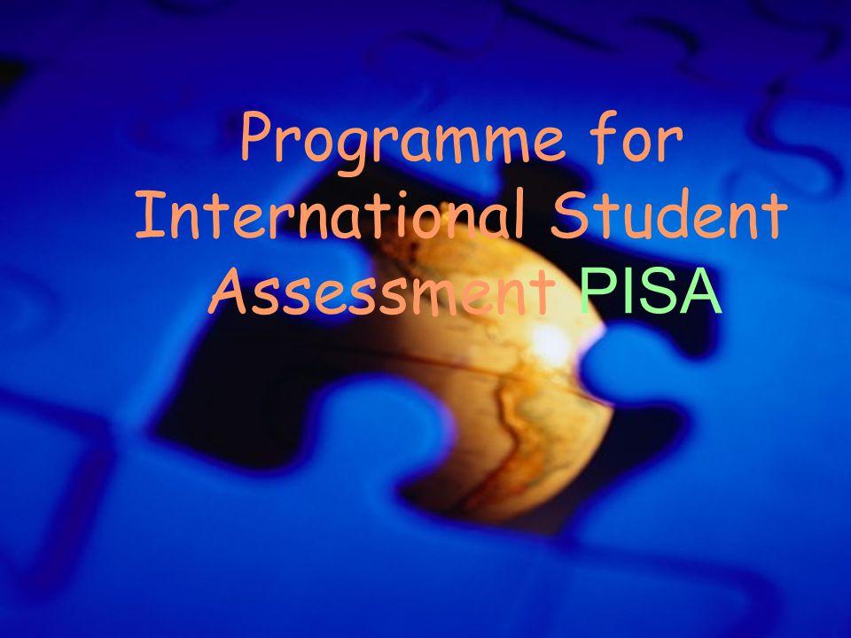 Programme for International Student Assessment PISA