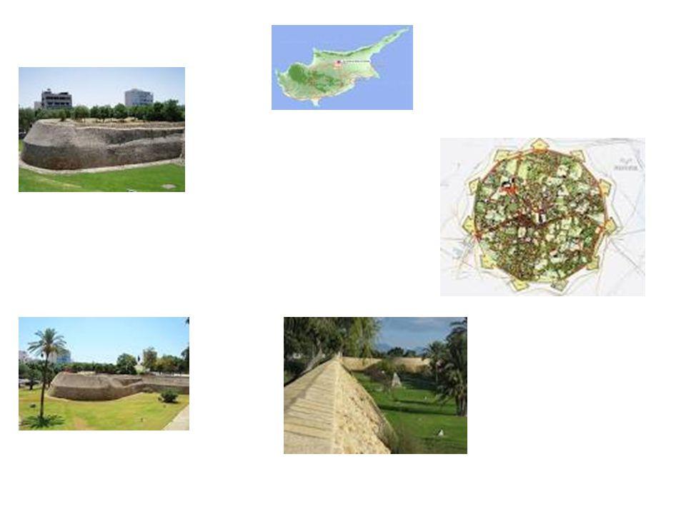 Τα τείχη της Λευκωσίας Κτίστηκαν μεταξύ του 1567 και 1570 μ.χ.