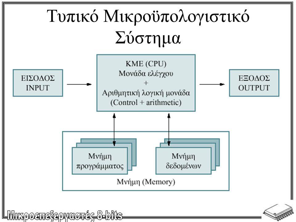Τυπικό Μικροϋπολογιστικό Σύστημα