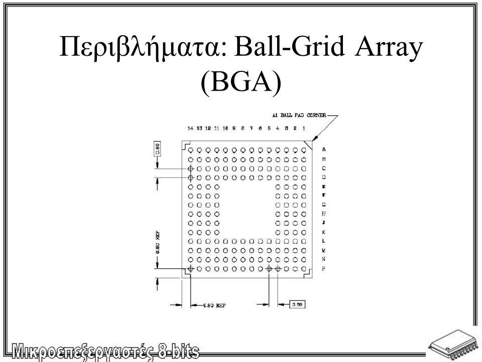 Περιβλήματα: Ball-Grid Array (BGA)