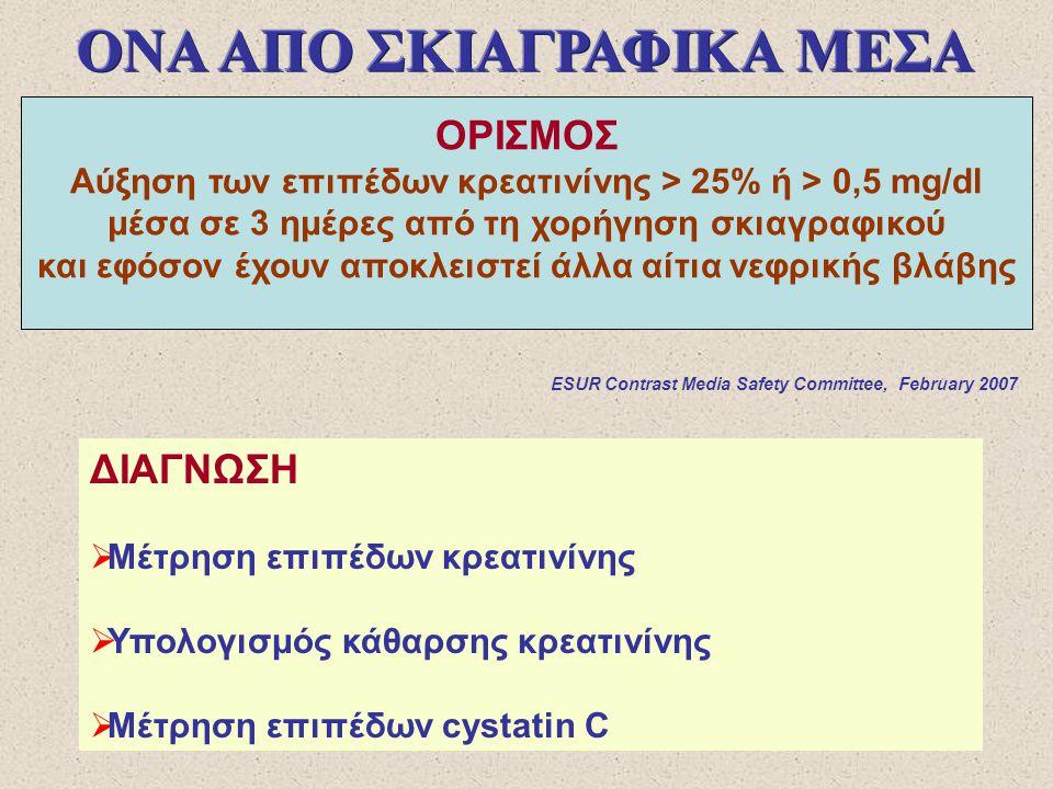 Στο γενικό πληθυσμό: ~ 2% Σε ασθενείς με παράγοντες κινδύνου η συχνότητα αυξάνει.