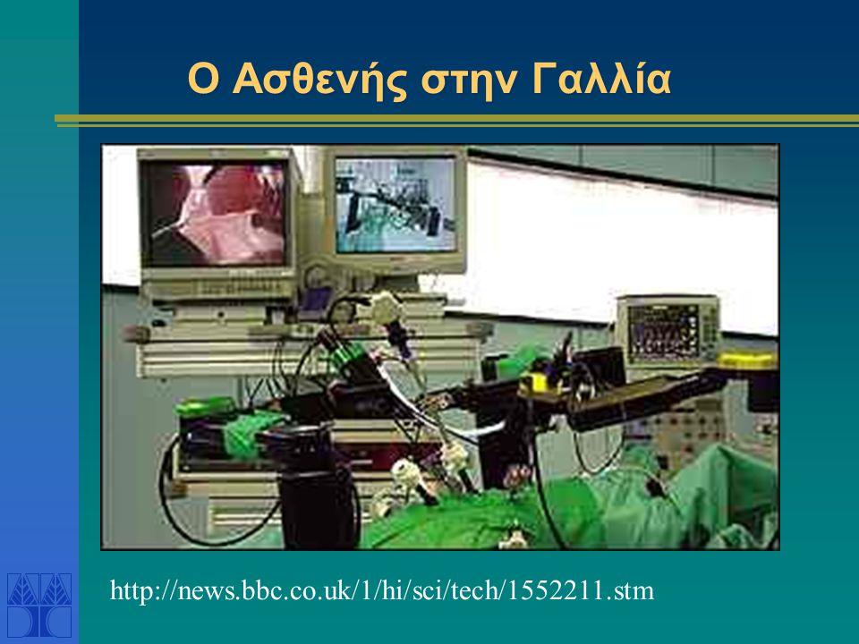 Εξ Αποστάσεως Εγχείρηση Η πρώτη υπερατλαντική εγχείρηση μέσω του διαδικτύου από γιατρούς στις Η.Π.Α.