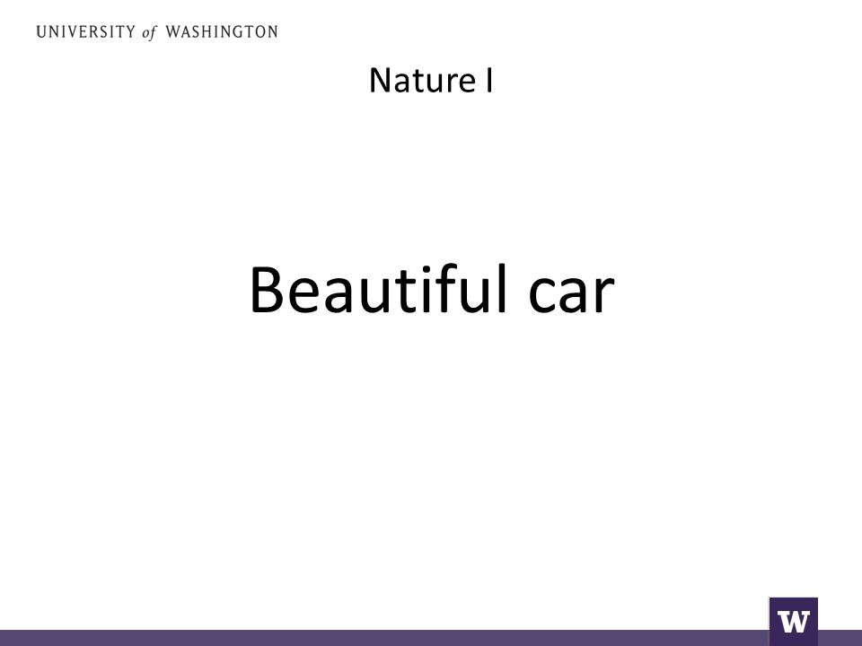 Nature I Beautiful car