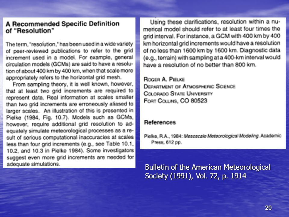 20 Bulletin of the American Meteorological Society (1991), Vol. 72, p. 1914
