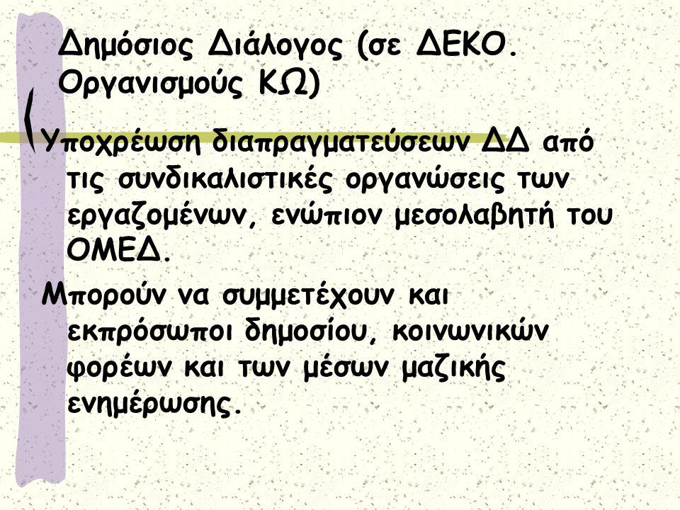 Δημόσιος Διάλογος (σε ΔΕΚΟ.