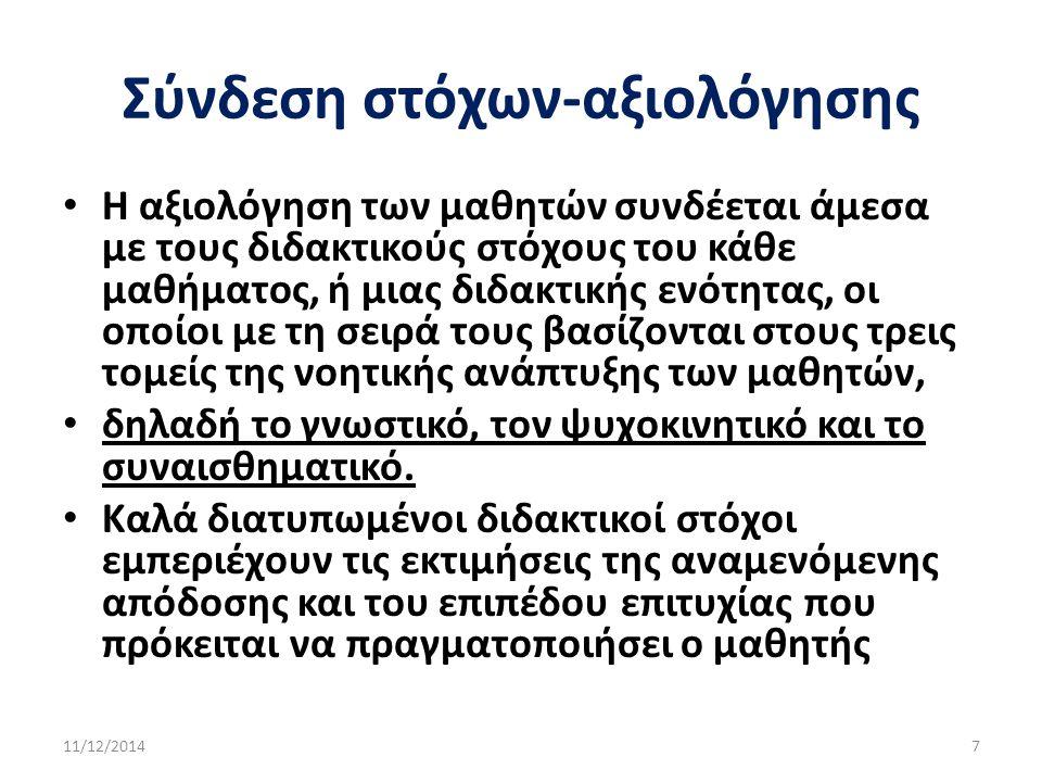 Αξιολόγηση γυμνασίου ΦΕΚ 226/22.12.1994 Π Σαραντόπουλος (Σχ.
