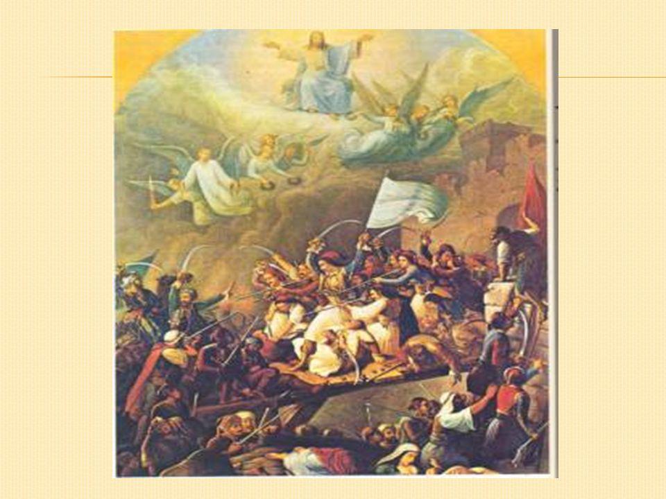  Όταν αποφασίζεται η ηρωική έξοδος(10 Απριλίου 1826), μετά το φοβερό λιμό, ακολουθούν πολλές γυναίκες με αντρική ενδυμασία, κρατώντας από το ένα χέρι το σπαθί και από το άλλο το μωρό τους, ενώ οι άοπλες μπήκαν στη μέση της φάλαγγας μαζί με τα παιδιά τους.