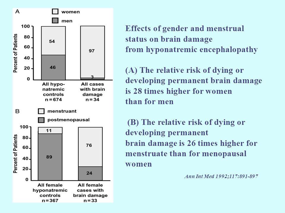 Σε ειδικές νευρογνωσιακές δοκιμασίες οι ασθενείς με υπονατριαιμία εμφάνισαν αστάθεια βάδισης και περισσότερες λανθασμένες/ καθυστερημένες απαντήσεις.