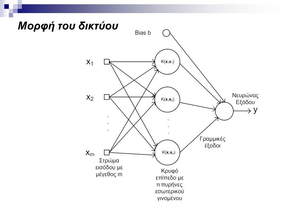 Μορφή του δικτύου