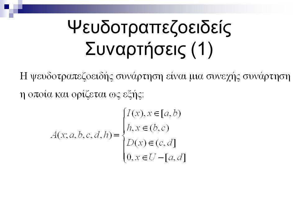 Ψευδοτραπεζοειδείς Συναρτήσεις (1)