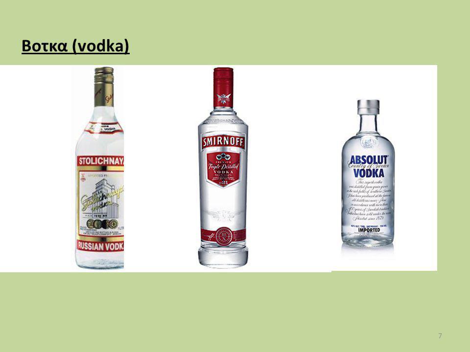 Ανακεφαλαίωση Στόχων: 18 1.Ορίζει τα οινοπνευματώδη ποτά.