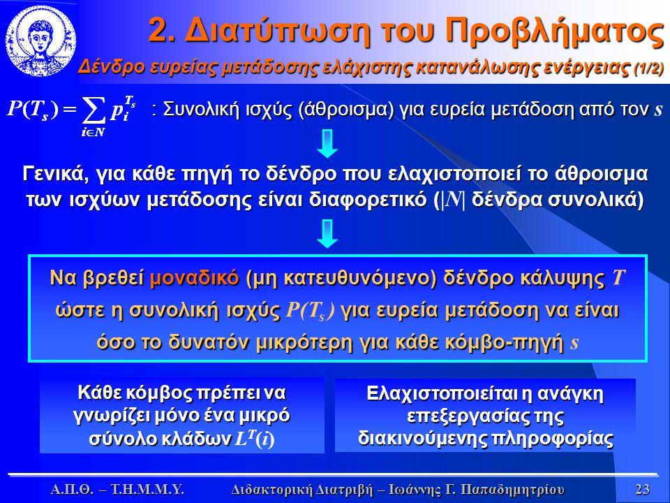 Α.Π.Θ. – Τ.Η.Μ.Μ.Υ.Διδακτορική Διατριβή – Ιωάννης Γ.