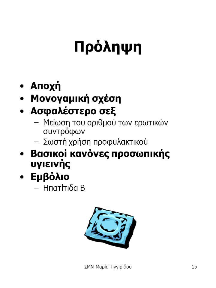 ΣΜΝ-Μαρία Τιγγιρίδου14 Έλεγχος Θεραπεία –Αντιβιοτικά –Φάρμακα κατά των ιών