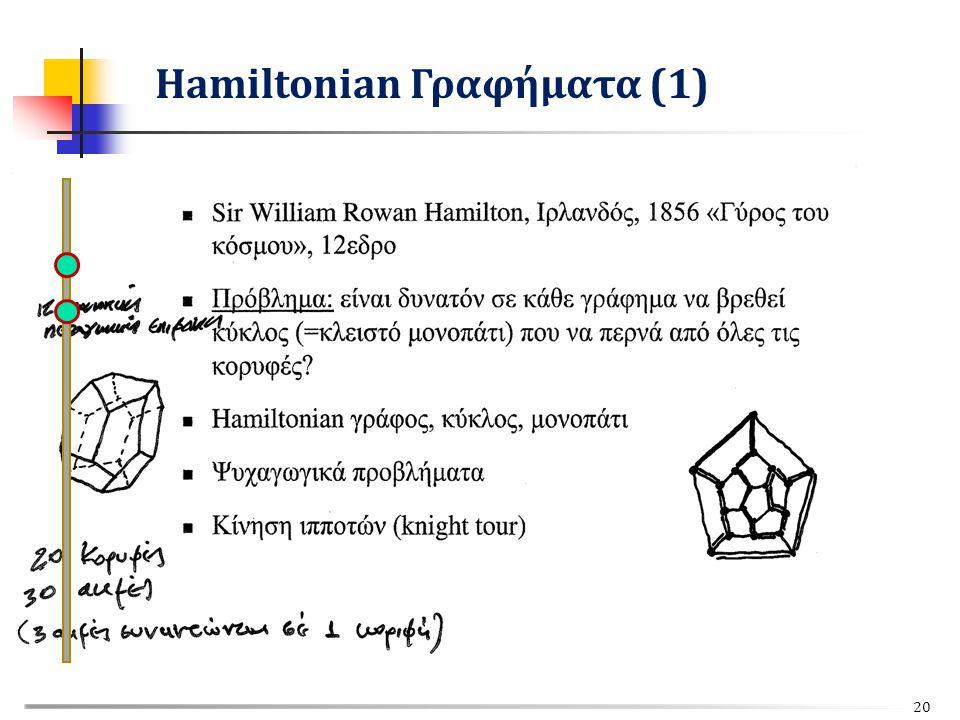 Hamiltonian Γραφήματα (1) 20