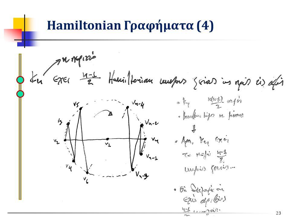 Hamiltonian Γραφήματα (4) 23