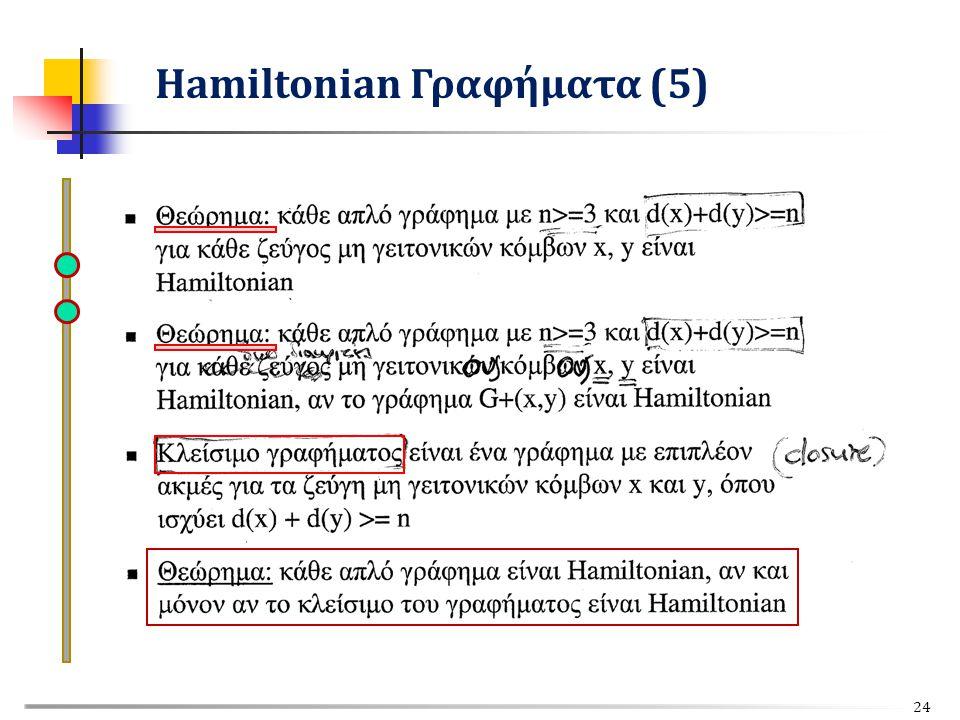 Hamiltonian Γραφήματα (5) 24