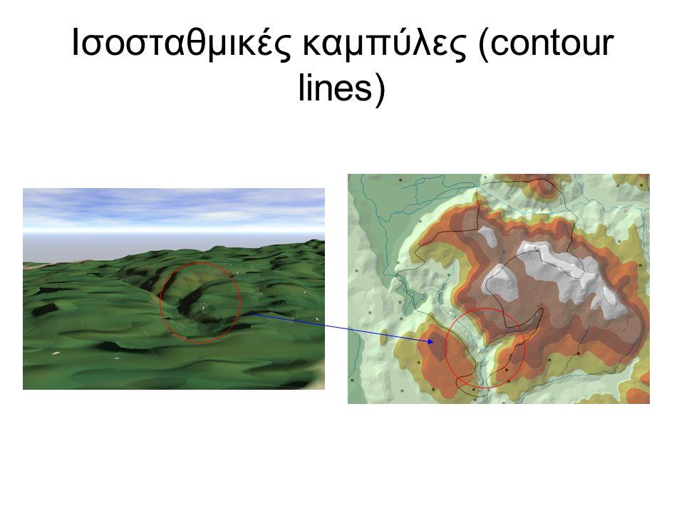 Ισοσταθμικές καμπύλες (contour lines)