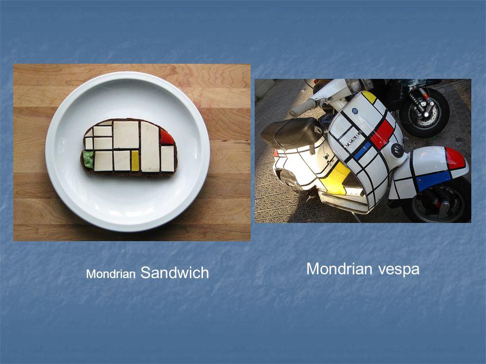 Mondrian Sandwich Mondrian vespa