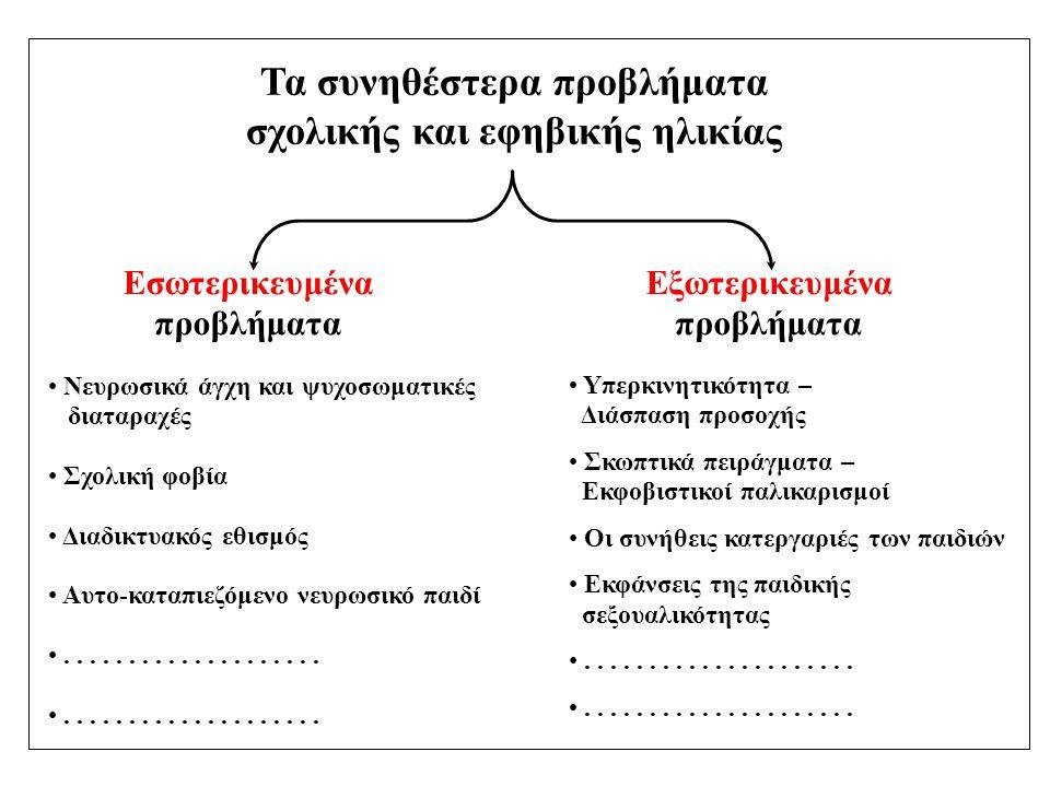 ΟΙ ΤΕΣΣΕΡΙΣ (4) ΔΙΑΔΙΚΑΣΙΕΣ ΓΙΑ ΤΗ ΔΙΑΜΟΡΦΩΣΗ ΤΗΣ ΠΡΟΣΩΠΙΚΗΣ ΤΑΥΤΟΤΗΤΑΣ –Δοτή – πρόωρα σχηματισμένη ταυτότητα –Κατακτημένη ταυτότητα –Παρατεταμένο μορατόριουμ –Σύγχυση ρόλων Επιθυμητή διαδικασία: Κατακτημένη ταυτότητα