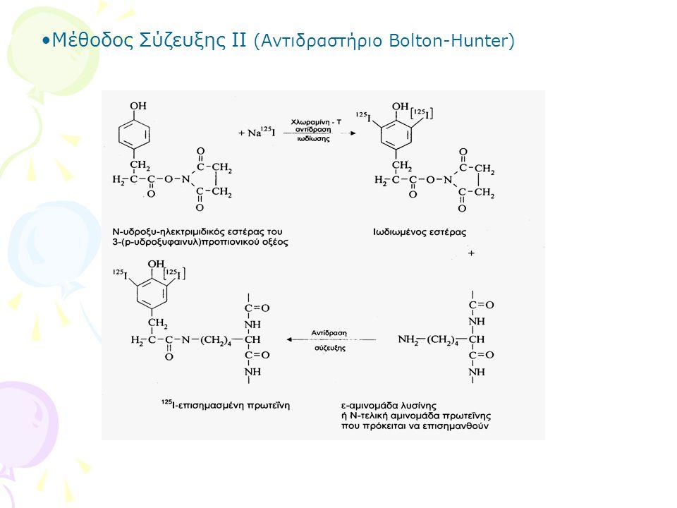 Μέθοδος Σύζευξης ΙΙ (Αντιδραστήριο Bolton-Hunter)