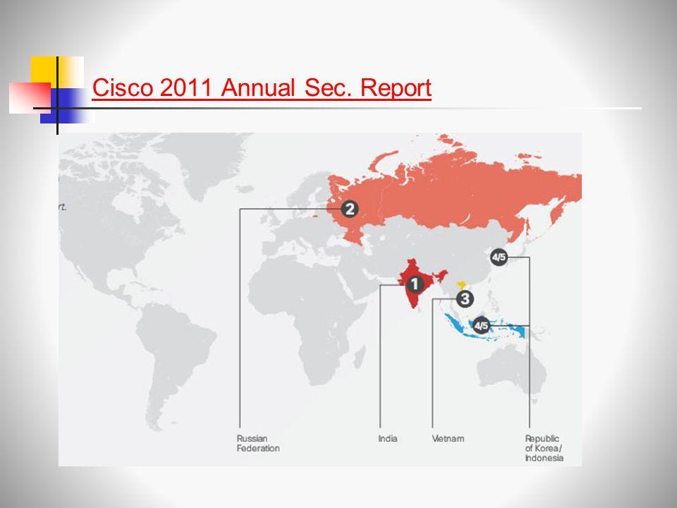Cisco 2011 Annual Sec. Report