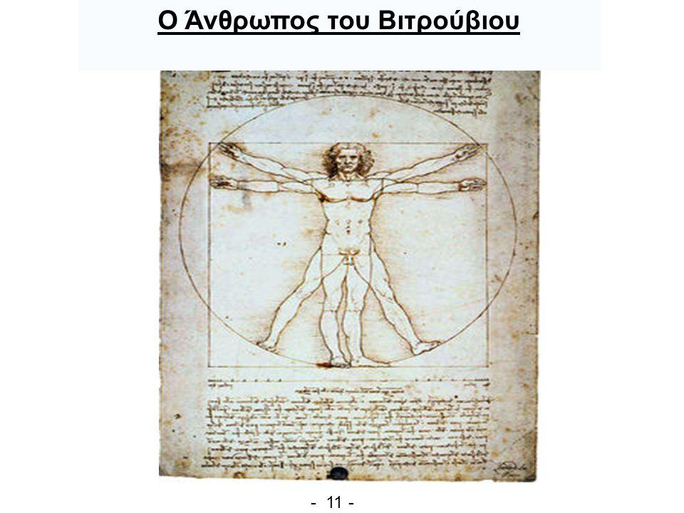 Ο Άνθρωπος του Βιτρούβιου - 11 -