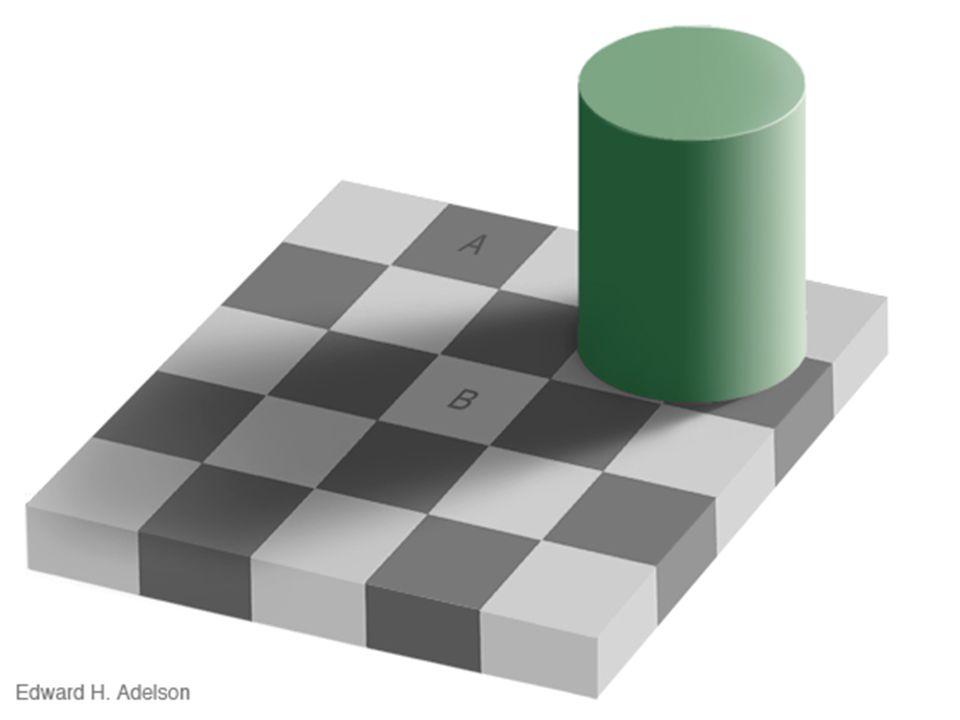 Είναι ίδια τα χρώματα στις περιοχές A και B !?