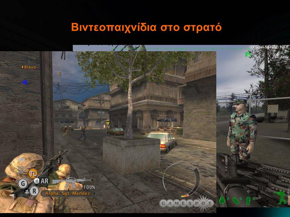Βιντεοπαιχνίδια στο στρατό