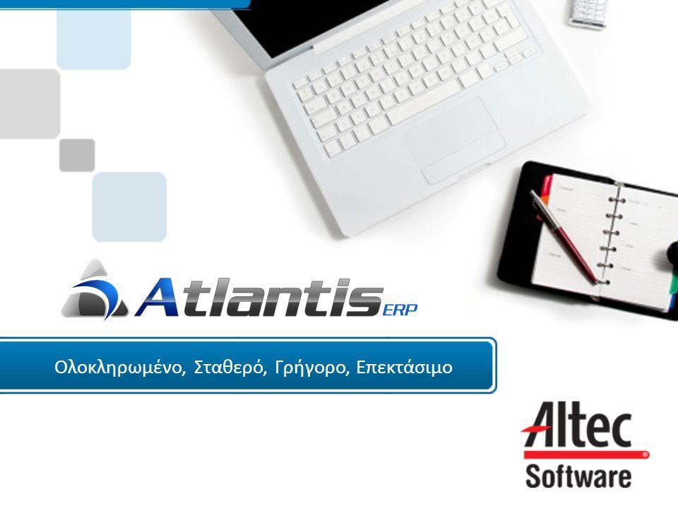 Ηλεκτρονική τιμολόγηση (e-Invoice)  Ηλεκτρονική αποστολή παραστατικών μέσω Tax-Manager  Δυνατότητα κρυπτογράφησης των απεσταλμένων αρχείων με διαφορετικό «κλειδί» κατά λήπτη  Αυτόματη εισαγωγή των εισερχόμενων παραστατικών, όταν αυτά αποστέλλονται από εφαρμογές Altec Software  Καρτέλα ηλεκτρονικών παραστατικών κατά πελάτη / προμηθευτή