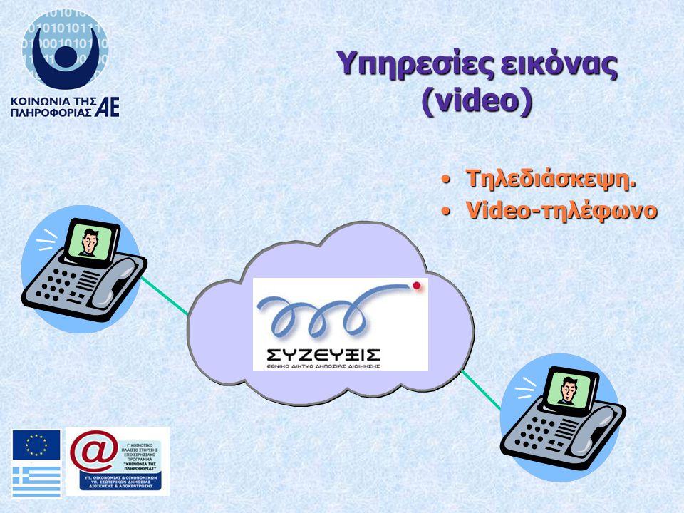 Τηλεδιάσκεψη.Τηλεδιάσκεψη. Video-τηλέφωνοVideo-τηλέφωνο Υπηρεσίες εικόνας (video)