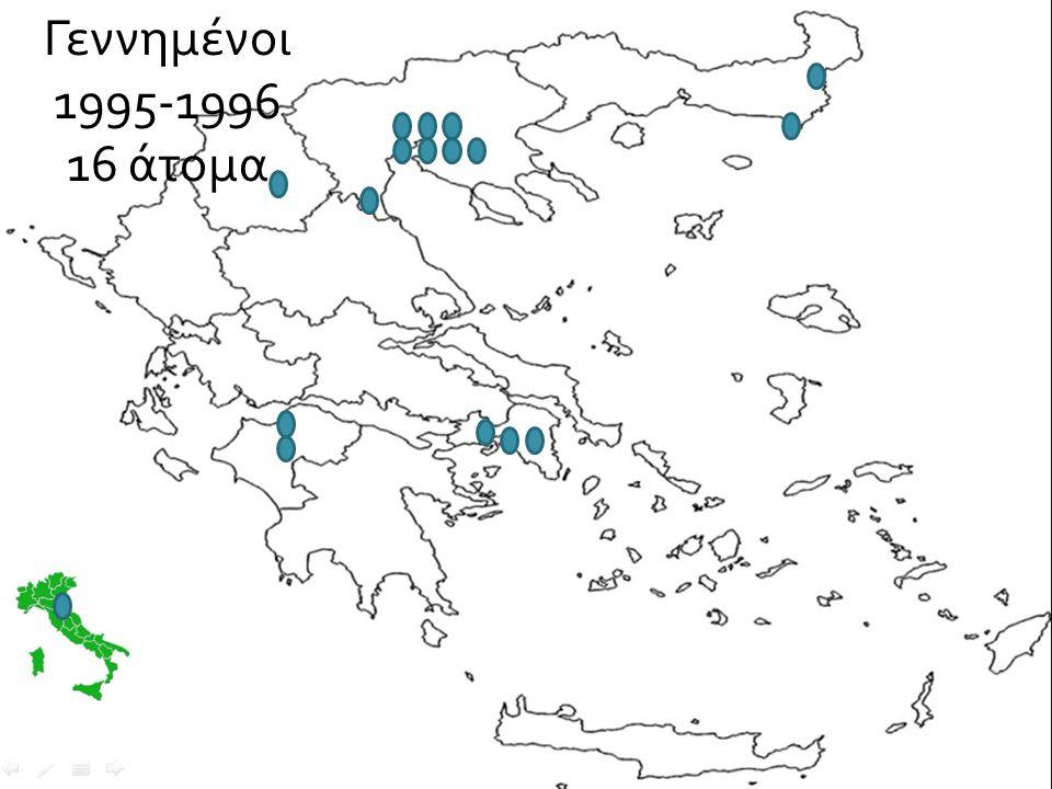 Γεννημένοι 1995-1996 16 άτομα