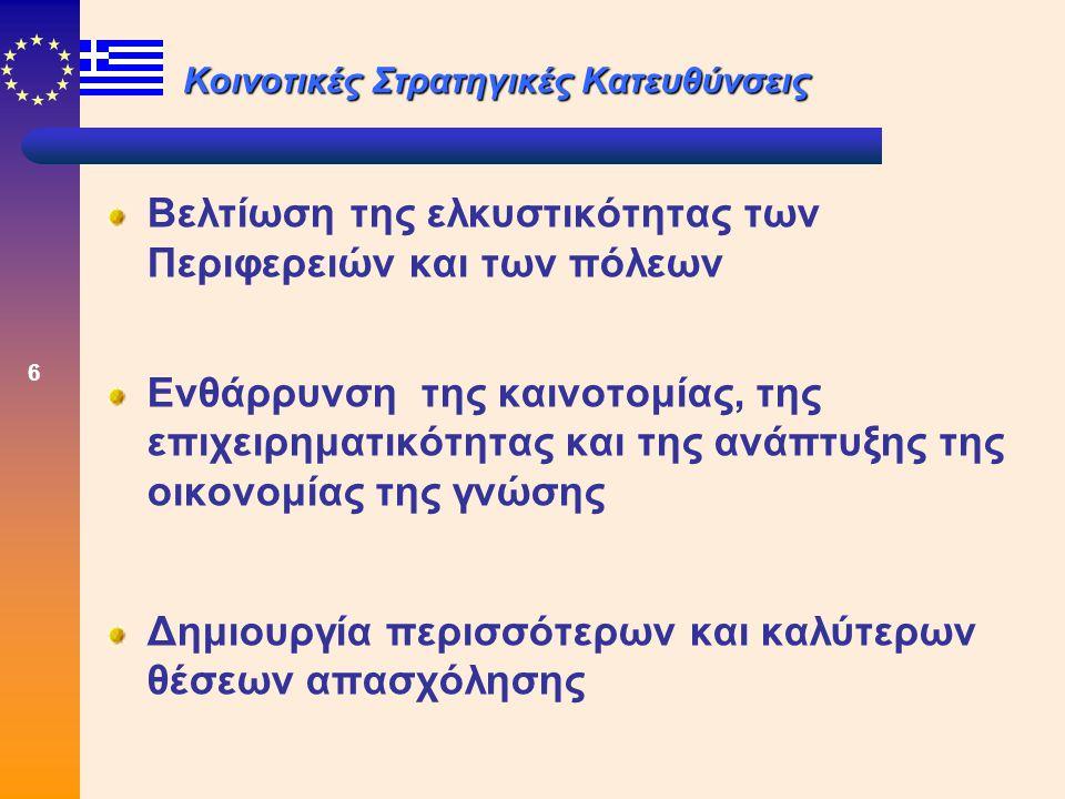 7 Καινοτομία Έχουμε: Καινοτομία ως διαδικασία Καινοτομία ως αποτέλεσμα Αφορά καινοτομία οικονομική, εμπορική, λειτουργική, μεθοδολογική, κοινωνική, θεσμική και οργανωτική