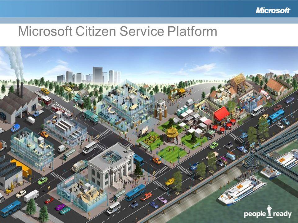 Microsoft Citizen Service Platform