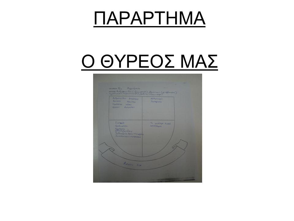 Η ΑΦΙΣΑ ΜΑΣ