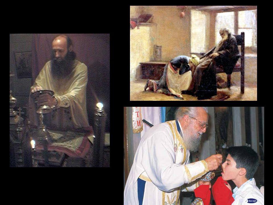 Ο ιερέας τελεί τα μυστήρια, ο Χριστός τελειοποιεί. Ο ιερέας δανείζει τα χέρια και το σώμα του στο Χριστό και τον καθιστά έτσι ορατό στο πλήρωμα της Εκ