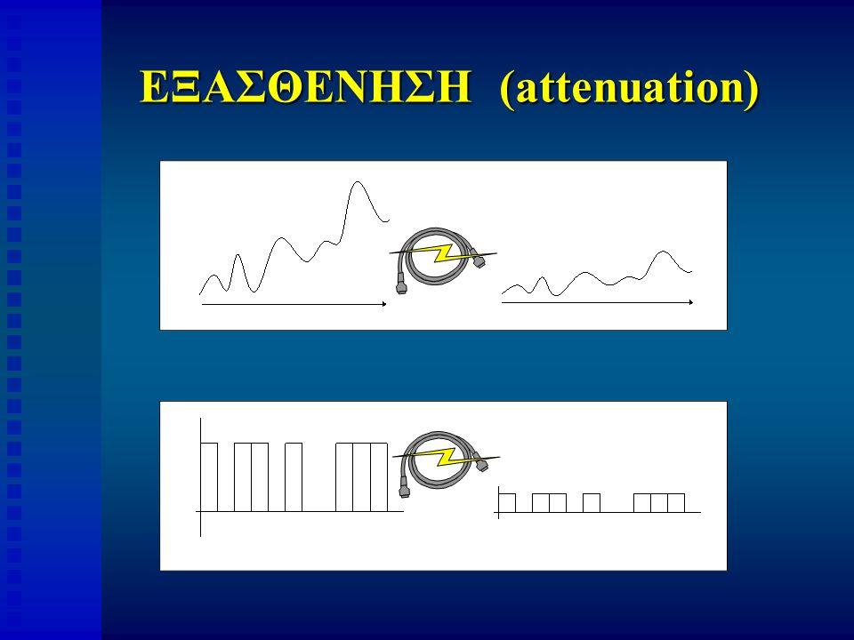 ΕΞΑΣΘΕΝΗΣΗ (attenuation)