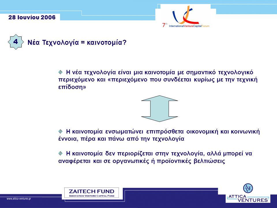 28 Ιουνίου 2006 Η εταιρία 15 Η Attica Ventures είναι Eταιρία Διαχείρισης Αμοιβαίων Κεφαλαίων Επιχειρηματικών Συμμετοχών (ΑΚΕΣ) που δημιουργήθηκε σύμφωνα με τις διατάξεις του άρθρου 7 του νόμου 2992/2002.