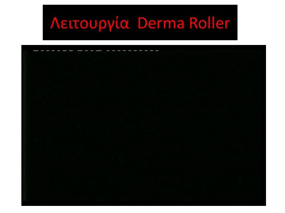 Λειτουργία Derma Roller