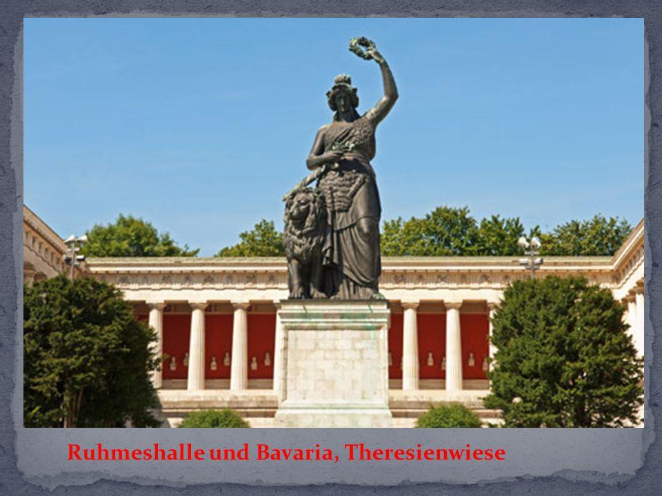 Ruhmeshalle und Bavaria, Theresienwiese