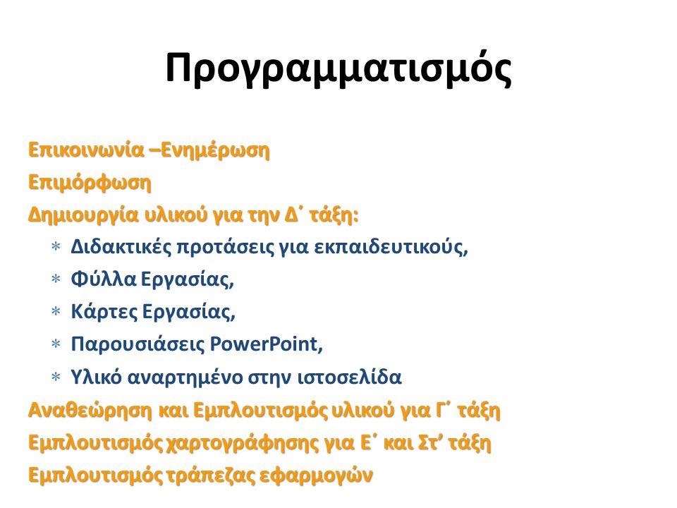 Νεολιθική Εποχή 9-12 μαθήματα για κάθε Εποχή