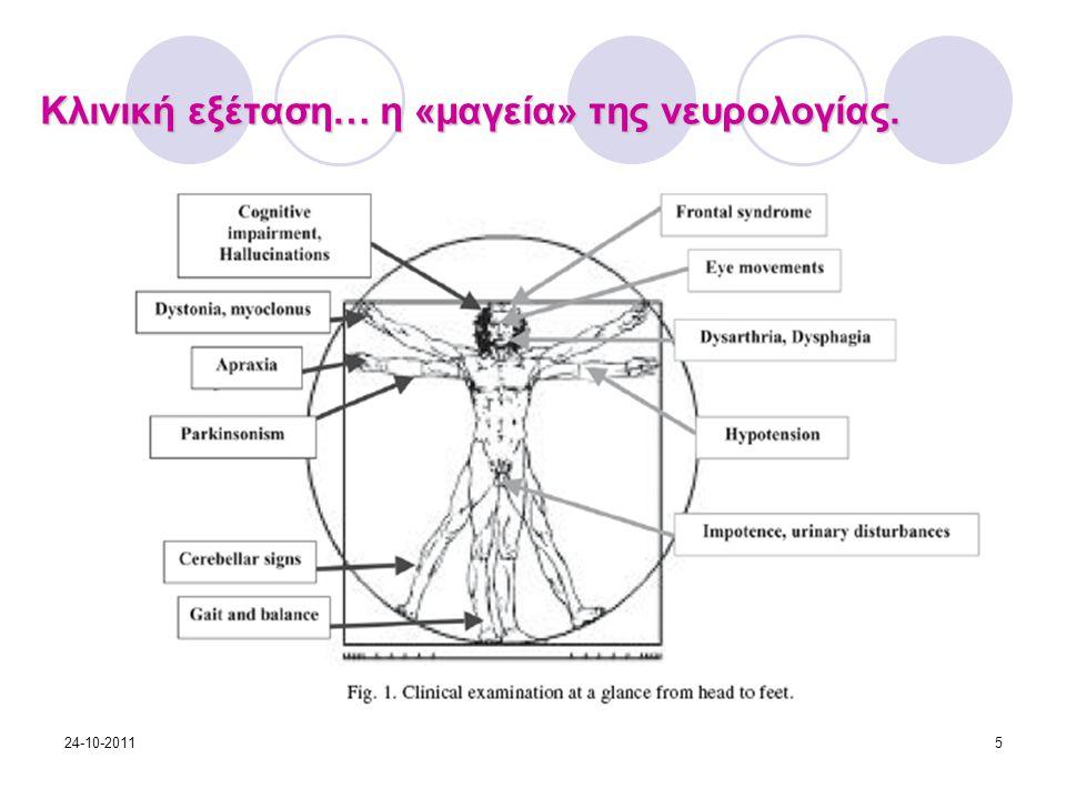 Κλινική εξέταση… η «μαγεία» της νευρολογίας. 24-10-20115