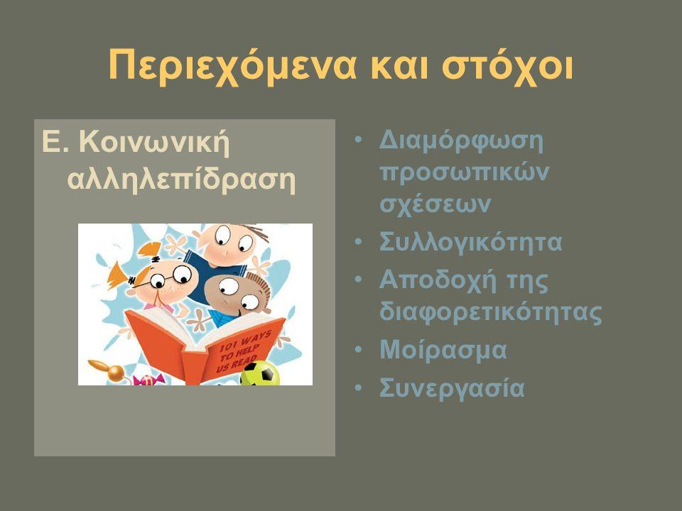 3.Στρατηγικές εφαρμογής Σε ομαδικό επίπεδο 1. δράσεις που προκύπτουν από τα παιδιά (τσακωμός) 2.