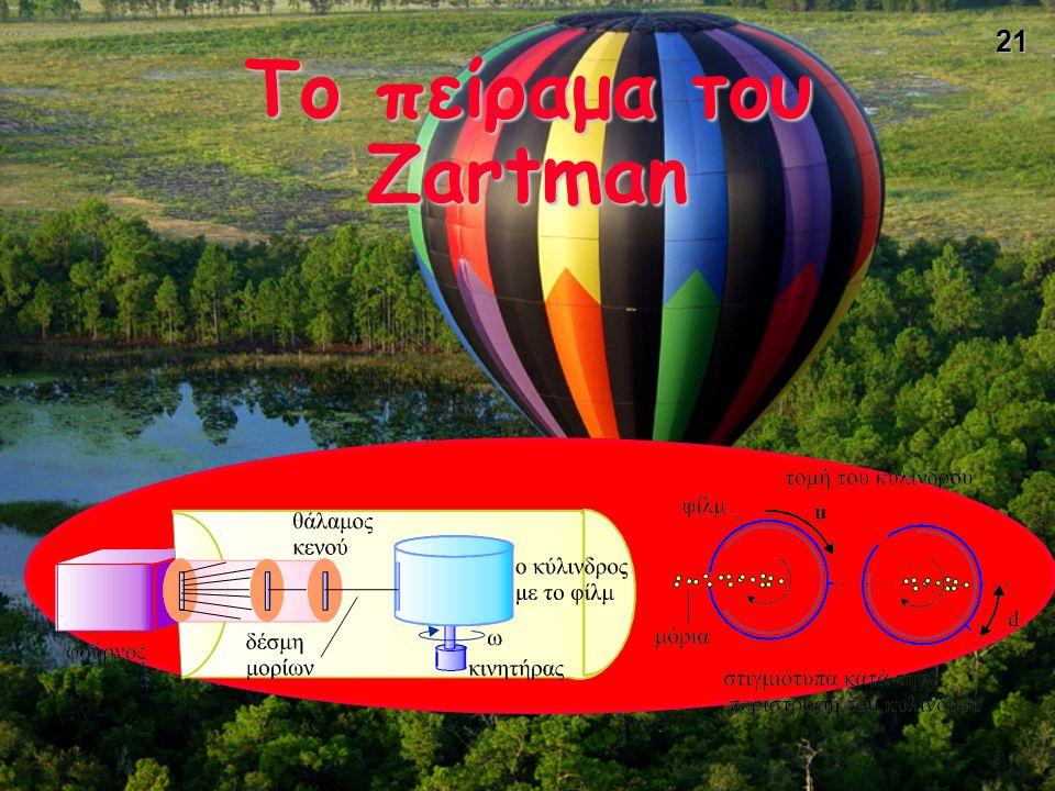21 Το πείραμα του Zartman