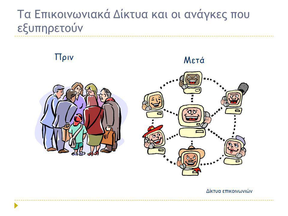 Τι είναι η δικτυακή Επικοινωνία;  Η προσωρινή συνεργασία (σχέση) μεταξύ Χρηστών μιας τηλεπικοινωνιακής Υπηρεσίας με σκοπό την ανταλλαγή πληροφοριών Πληροφορία Φωνή Δεδομένα Ήχος Γραφικά Κινούμενη εικόνα