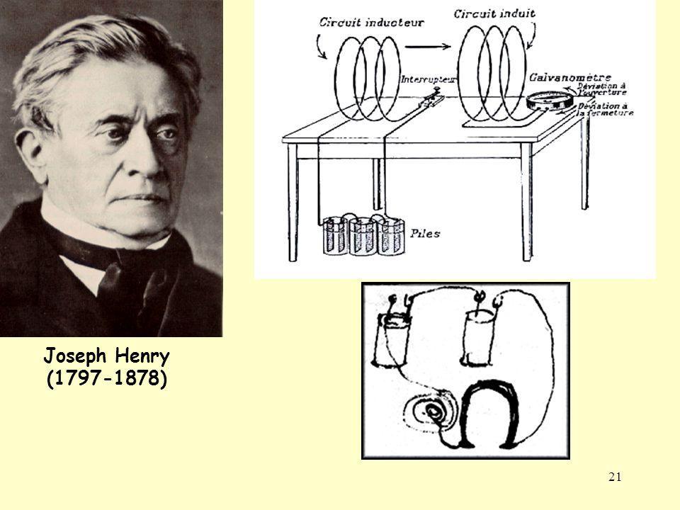 21 Joseph Henry (1797-1878)